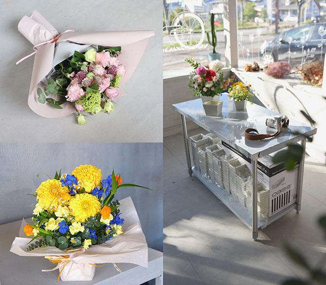 「花で伝える想い」を届ける